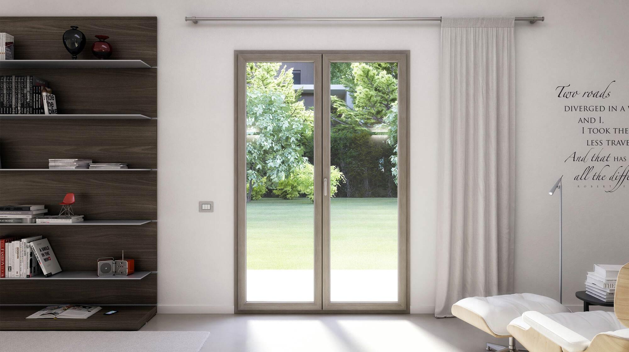 Immagine installazione finestra pvc oknoplast