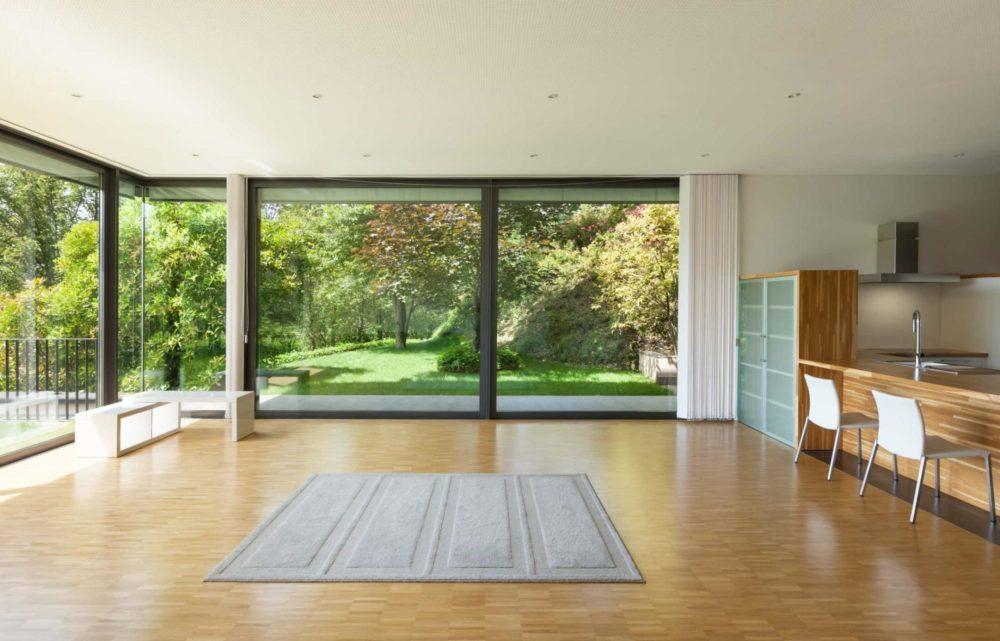 installazione infissi in alluminio casa di lusso