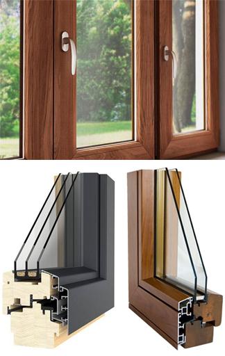 Produzione infissi in legno mister legno for Prezzi serramenti legno alluminio