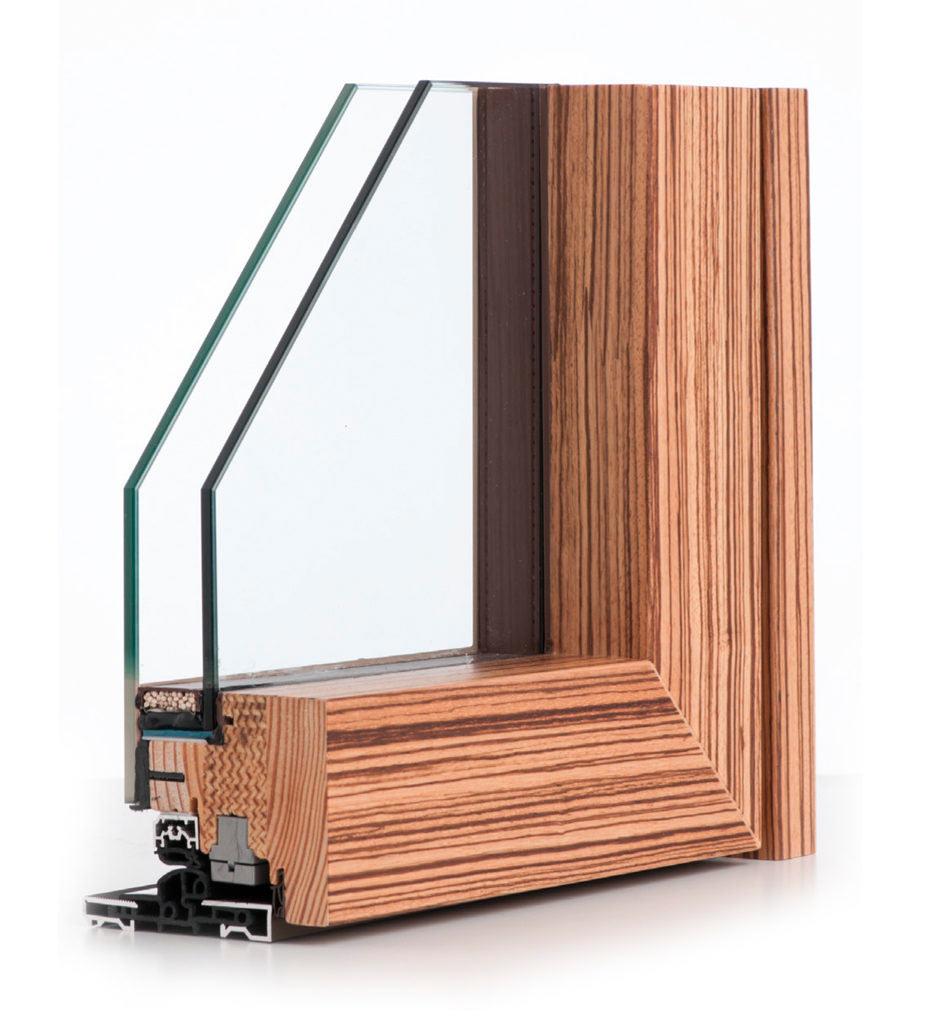 Rivenditore infissi legno alluminio sciuker bergamo - Verniciare finestre alluminio ...