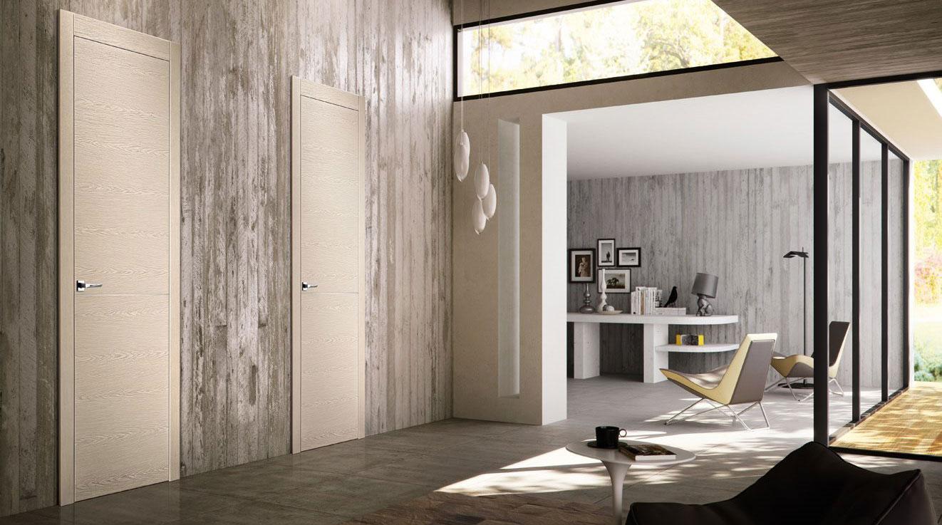 Appartamento con porte pivato installate