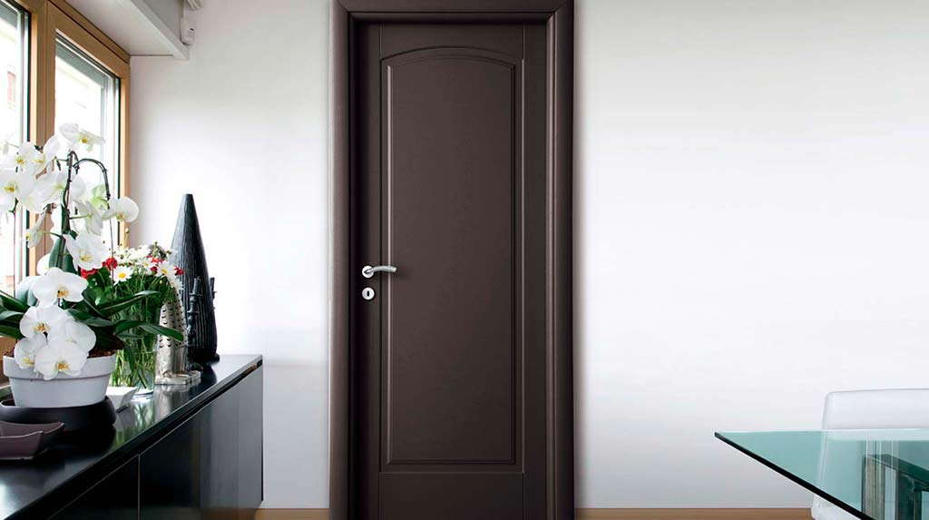 porta marrone dierre