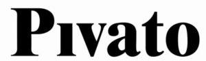 Logo pivato porte nero