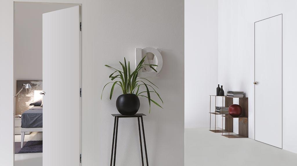 Porte bertolotto installate in appartamento minimal
